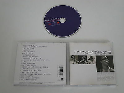 Stevie Wonder/song Review/a Greatest Hits Collection(Motown 530 757-2) Cd Album