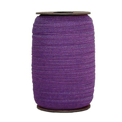 FOE 100 Yard Spool 5//8in Wide Fold Over Elastic Colorful Swirls
