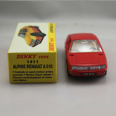 Diecast 1:43 Dinky toys 1411 RENAULT A310 ALPINE Red