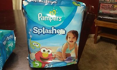 Pampers Splashers Disposable Swim Pants | Size: Size 5 NEW 22 swim Pants
