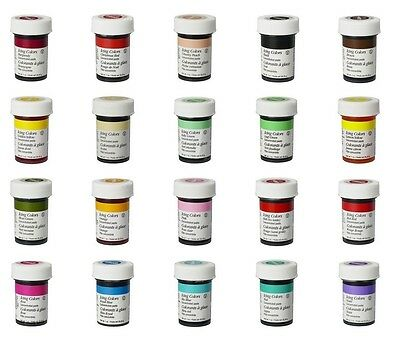 Wilton Icing Color Concentrate Paste Gel for Cake Cupcake Food Decorating Baking