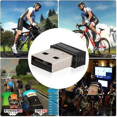 USB 2.0 ANT+ USB Stick Adapter for Garmin Forerunner Compatible With CycleO Q1T6