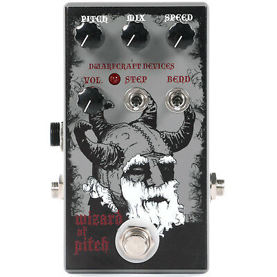 Dwarfcraft Devices Wizard of Pitch Shifter Pedal