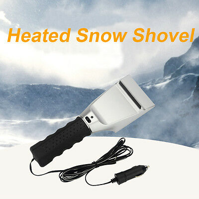12V Winter Car Electric Heater Snow Shovel Car Windshield WindowsIce Snow Melter