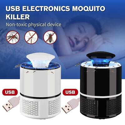 USB Indoor Electronic Mosquito Control Lamp Insect Zapper Bug Pest Killer Light