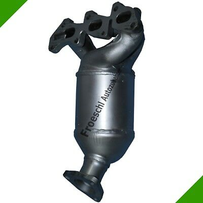 Catalyseur pot catalytique Collecteur pour Opel Agila A Corsa C 1.0 12V neuf