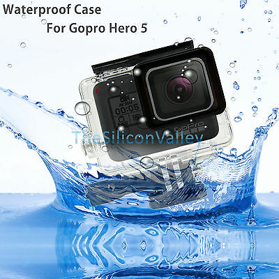 45m Waterproof Diving Protective Housing Case For GoPro Hero 5 Camera Accessory