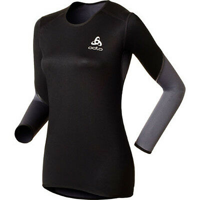 Odlo Long Sleeve Windstopper Logic Windproof Climate Comfort Womens Tee RRP £45