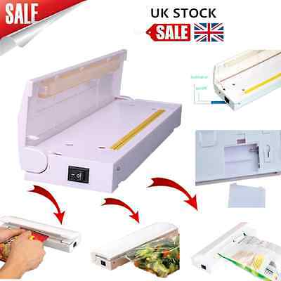 Home Portable Seal Vacuum Food Bag Sealer Packaging Machine Kitchen Tools ZY
