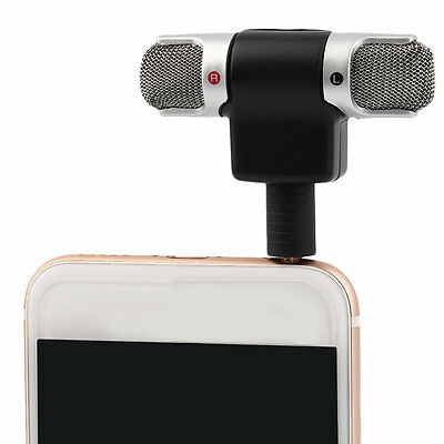 Portable Mini Mic Digital Stereo Microphone for Recorder Mobile Phone ZY