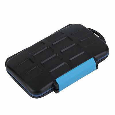 Memory Card Case Holder for 8 x Cards MC-SD8 Waterproof Anti-shock ZY