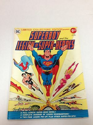 Limited Collectors' Edition C-49 Superboy And The Legion Of Super-Heroes 1976