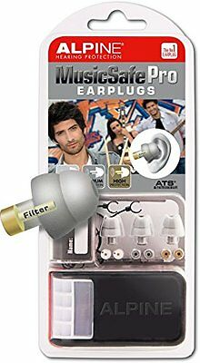 Alpine Musicsafe Pro Filter Ear Plugs For Musicians Silver Musical Comfort Comfo