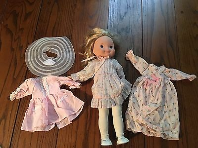 VINTAGE FISHER PRICE MY FRIEND MANDY DOLL With outfits