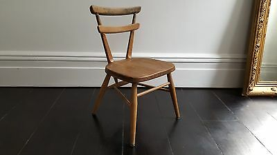 Vintage Ercol Childrens stacking chair