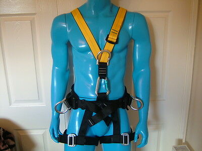 Zuoyi Power Full Body Harness For Construction, Tree Work, Rock Climbing Etc.