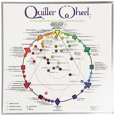 Jack Richeson Quiller Color Wheel for All Media by Stephen Quiller, 8.5 by 8.5-I