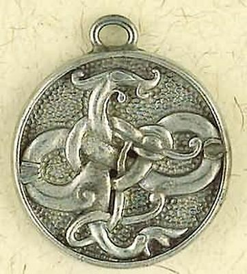 NEW Viking Gotland Dragon Pewter Pendant Necklace