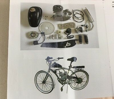 Bicycle Conversion Kit--Gas 2-Stroke Engine