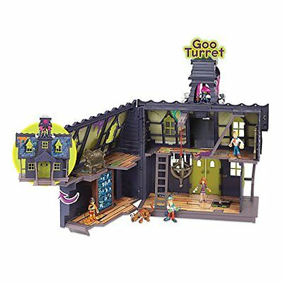 NEW Scooby Doo Mystery Mansion Children's Play Set With Figures and Goo Turret