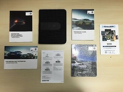 BMW  M4 COUPE 2015 owners  Manual Books/ NAVIGATION / in Luxe M Case /Free Ship