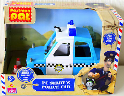Postman Pat PC Selby Police Car With Opening Doors New
