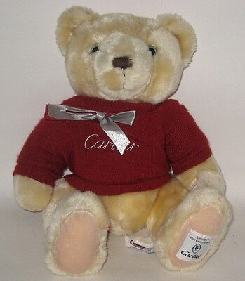 """Vintage 2001 Ltd Ed Cartier Cosette Teddy Bear 15""""  Fully Jointed  Great Quality"""