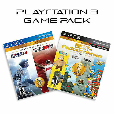 Ps3 Game Pack Mlb 14 The Show Nba 2k14 Best Of Playstation