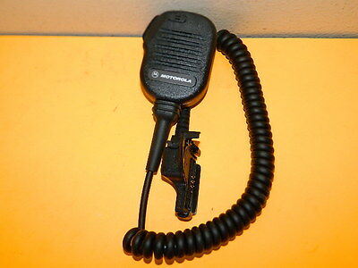 Motorola Nmn6191C Remote Radio Speaker Microphone Mt2000 Mts2000 Mtx8000