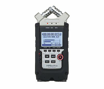 Zoom Handy H4N PRO Digital Audio Portable Multitrack Recorder - 2016 Version