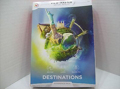 View Master Virtual Reality Destinations Experience Pack 3 Reels NEW SEALED
