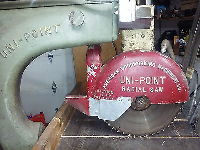 """American Woodworking Uni-Point X36Af 15"""" Blade 3Hp"""