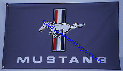 Mustang flag Ford mustang Car banner flags 3X5 Ft - free shipping