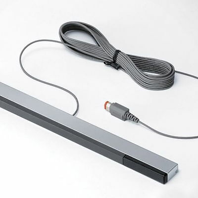 Wired Infrared IR Signal Ray Sensor Bar/Receiver for Nitendo Wii Remote new ZX