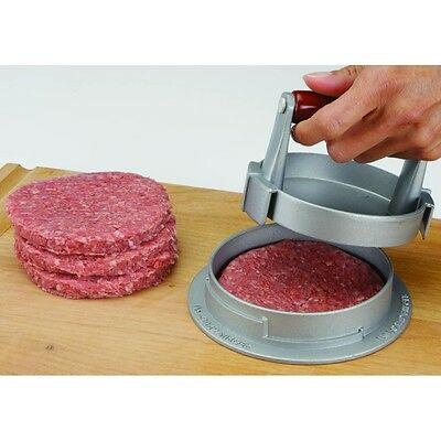 Burger Press Adjustable Hamburger Meat Patty Maker Cooking-Kitchen Gadget Grill