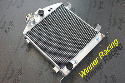 Ford hot rod chopped w/Ford SB 302 V8 1928-1931 aluminum alloy radiator 56MM