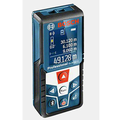 New BOSCH GLM50C Bluetooth Laser Digital Distance Tape Measure + Free Shipping