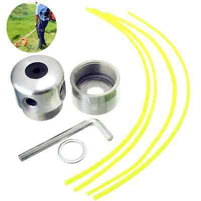 Universal Brush cutter spare parts 4 Nylon Line Strimmer Alloy Weed Trimmer Head