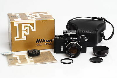 Nikon F Photomic FTn Black w. 1.4/50mm Case & Box