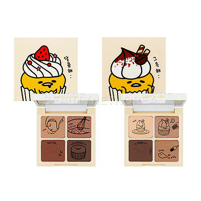 [HOLIKA HOLIKA] Gudetama Lazy & Joy Cupcake Eye Paltte Shadow 6g 2 Color