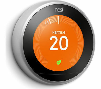 NEST LEARNING THERMOSTAT 3rd GENERATION T3010GB - IN STOCK!!!