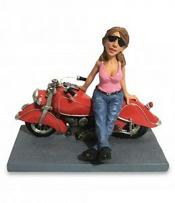 Mestieri Funny Collection Les Alpes Biker Woman Donna Motociclista 014 99660