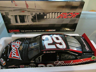 Kevin Harvick #29 Budweiser 2012 1/24 Scale NASCAR Sprint Cup Diecast