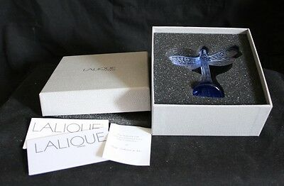 Lalique Dragonfly With Original Box And Paperwork