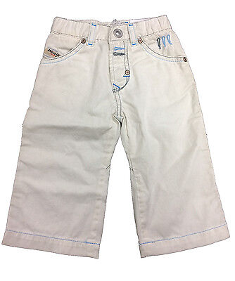 Baby Diesel Boys Trousers Pumib Pants Age 3-9 Months NEW