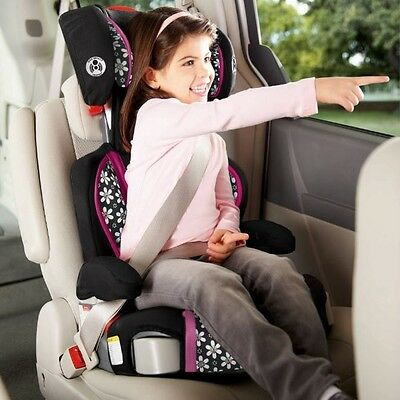 Booster Car Seat High Back Backless Convertible Toddler Kids Vehicle Child Chair