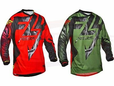 Fly Racing Lite Hydrogen Jersey MX ATV Thin Light Motocross MTB/BMX/UTV Medium