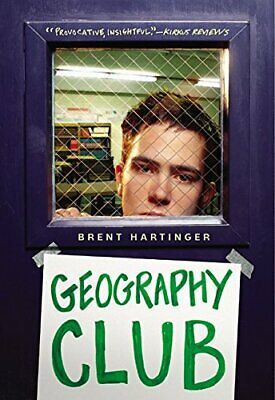 Geography Club by Hartinger, Brent Book The Cheap Fast Free Post