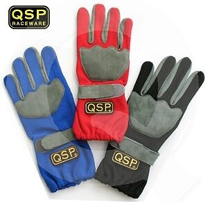 QSP Race / Karting Glove Blue #XL