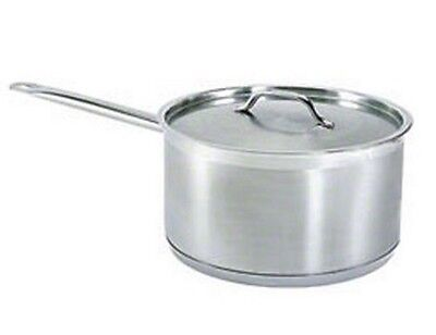 Update International SSP-3 Stainless Steel Sauce Pan with Cover, 3.5-Quart by Up